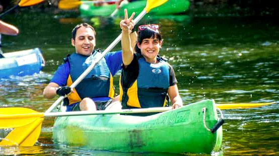 Canoas y remos