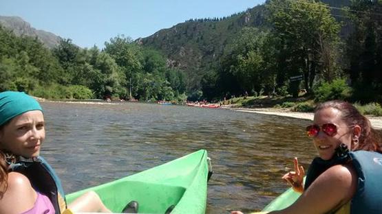 En canoa por el Río Sella