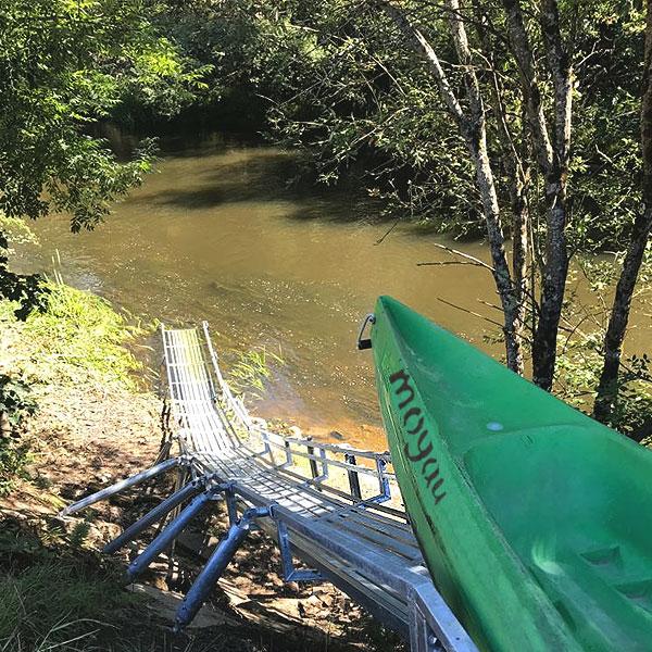 La mejor rampa del Descenso del Sella en Asturias