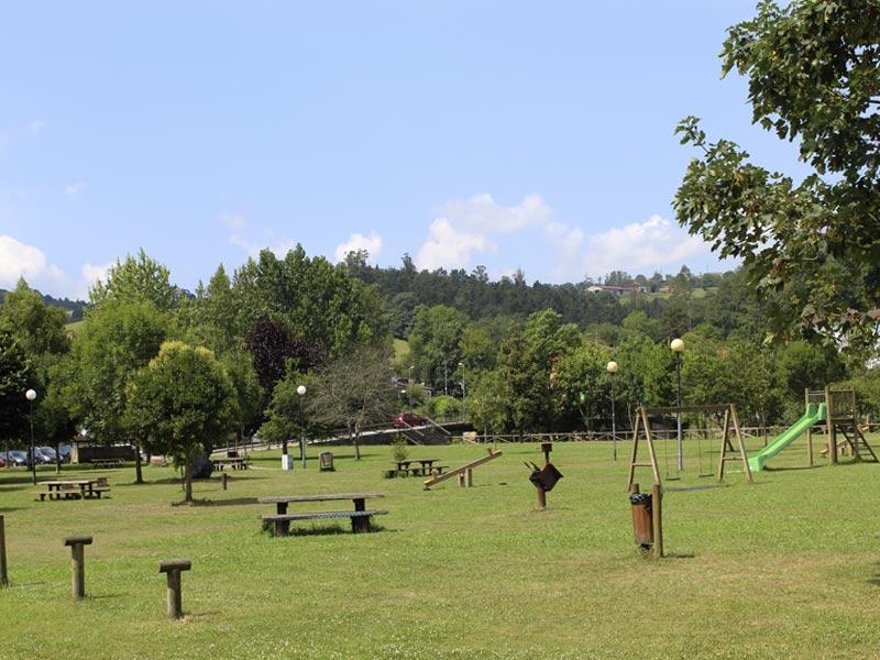 Zona de recreo de Parque de la Concordia