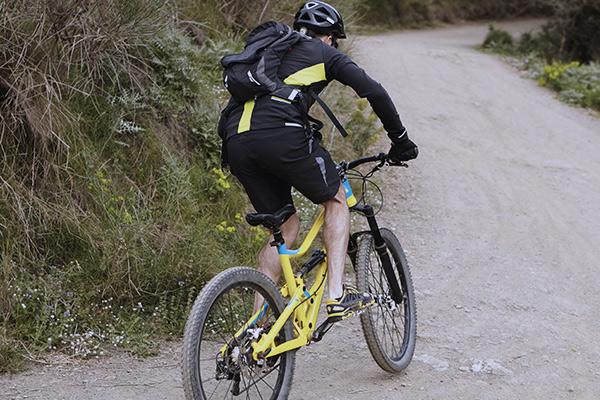 Rutas BTT con bicicleta